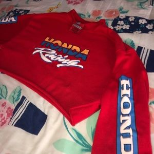 Authentic Limited Edition Honda Cropped Sweater